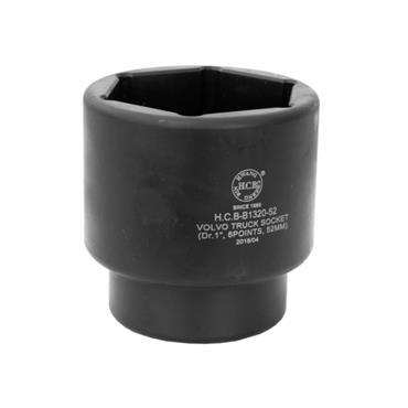 "VOLVO SOCKET 1""  DRIVE 6 POINT 52mm B1320-052"