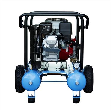 NUAIR PETROL COMPRESSOR 5.5HP 10+10LTR  b3800-5-5s-10-10