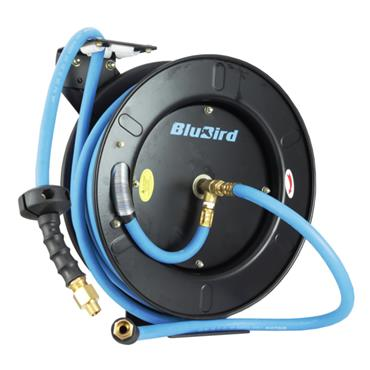 "BLUBIRD 50FT 1/2"" OPEN REEL"