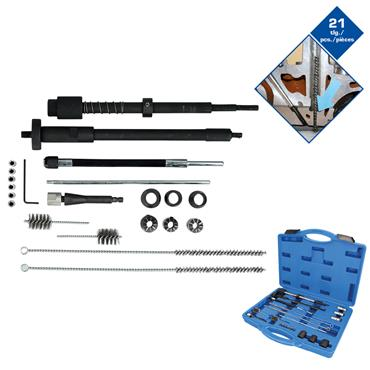 21-pcs Injector seat and manhole cleaning set BT551300