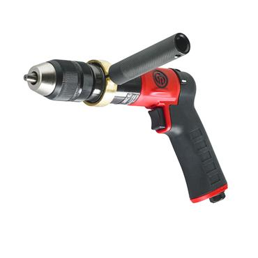 "CP9791C CHICAGO PNEUMATIC 1/2"" REVERSIBLE PISTOL DRILL"