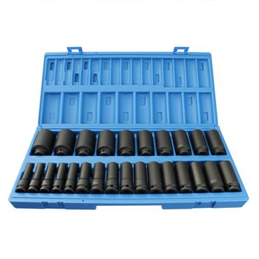 "1/2"" DRIVE 26 PCE LONG REACH IMPACT SET"