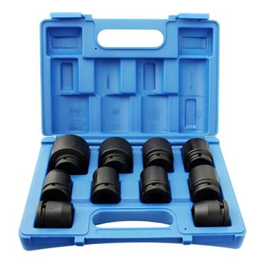 "3/4"" DRIVE 10 PIECE STANDARD IMPACT SOCKET SET"