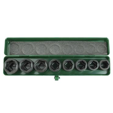 "3/4"" DRIVE 8 PIECE STANDARD IMPACT SOCKET SET"