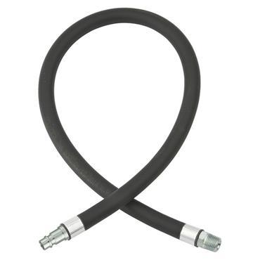Anti Whip Hose 10mm i/d Hose, XF-Hi-flow Adaptor & 1/4 Male End HA2132