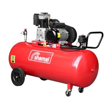SHAMAL 3HP 200 LITRE 220V AIR COMPRESSOR K17/200