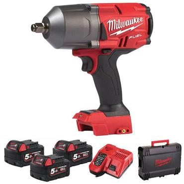 """Milwaukee - M18FHIWF12-503X 1/2"""" IMPACT WRENCH WITH FRICTION RING"""
