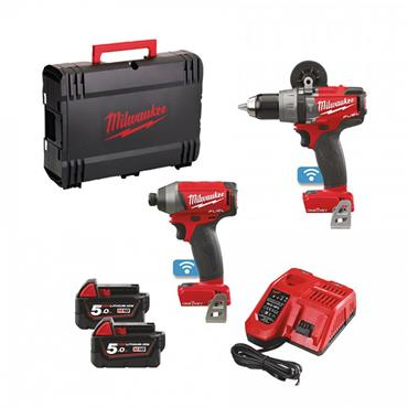 Milwaukee 18 Volt Cordless Drill And Impact Driver