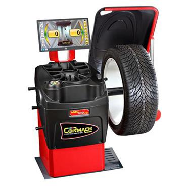 ELECTRONIC WHEEL BALANCER WITH LCD MONITOR MEC820VDL