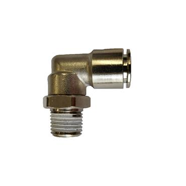 "1/4"" Bsp Pushfit Metal Elbow Fittings"