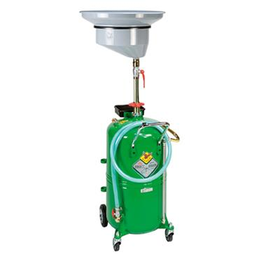 Waste oil drainer 90 litre with central bowl 42090