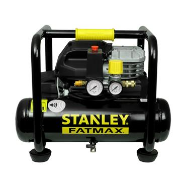 STANLEY 6 LTR 8 BAR OILLESS COMPRESSOR S244-8-6