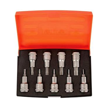 1/2in Drive Socket Set 9 Piece S9TORX