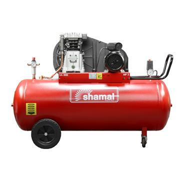 SHAMAL 3HP 200 LITRE 220V AIR COMPRESSOR SB38C-200