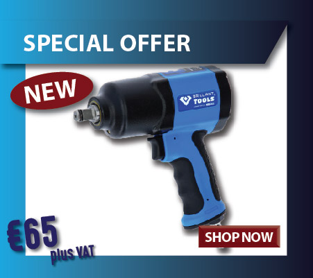 BRILLIANT TOOLS IMPACT WRENCH special offer