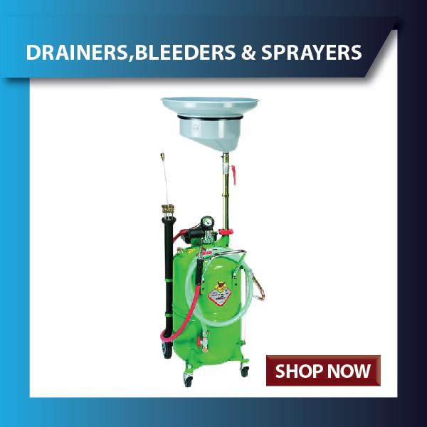 Oil Drainers , Brake Bleeders and Sprayers