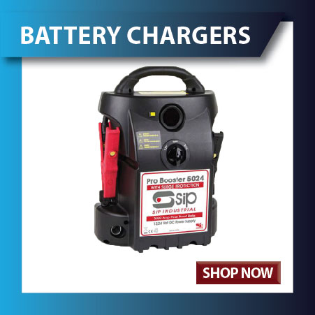 Battery Chargers and Battery Boosters