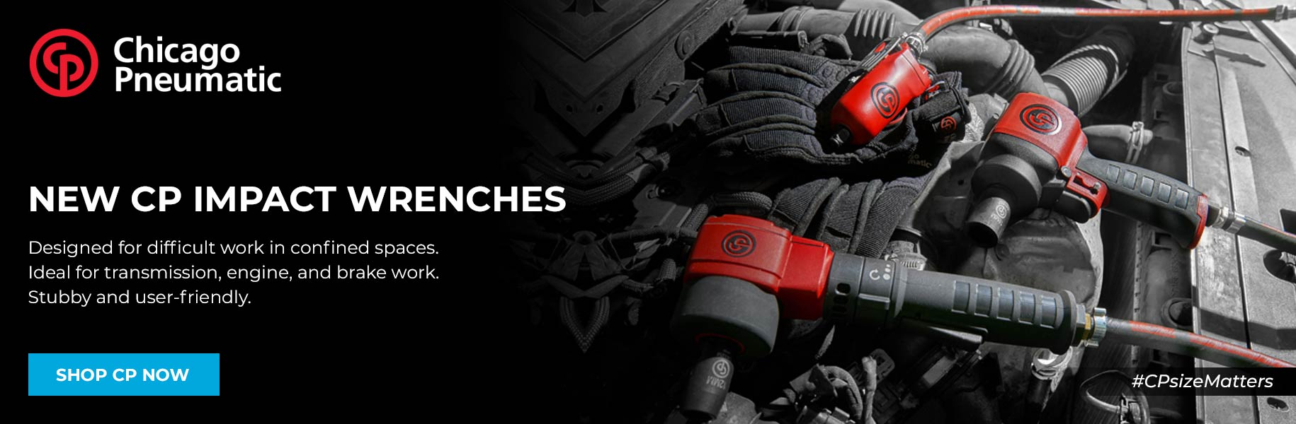 Chicago Pneumatic new impact wrenches: shop now