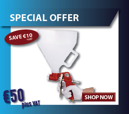 Hopper gun on special offer