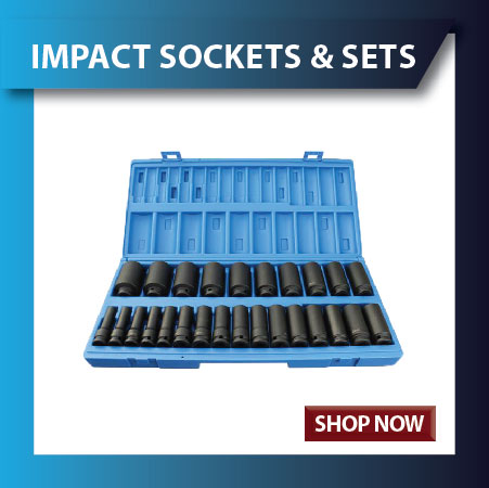 Impact Sockets and Impact Socket sets