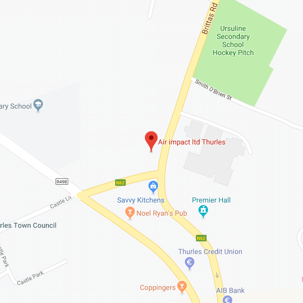 Map of Air Impact Ltd. Tipperary location