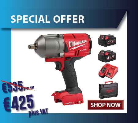 Milwaukee high torque impact wrench on special offer