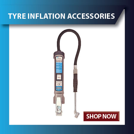 Tyre Inflators and Inflation Accessories
