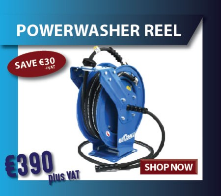 power washer reel