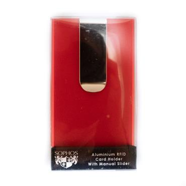 SOPHOS RFID CARD HOLDER - RED