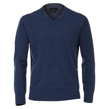 CASA MODA V-NECK KNIT - BLUE