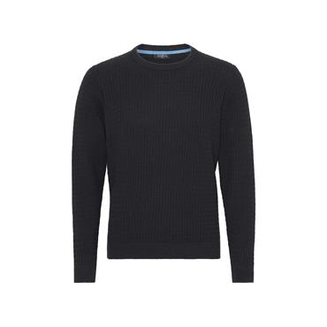 PRE END DYLAN ROUND NECK KNIT - NAVY