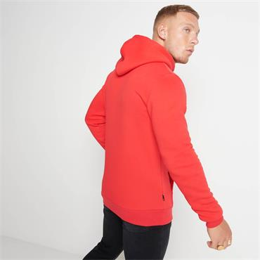 11 DEGREES PULLOVER HOODIE - RED