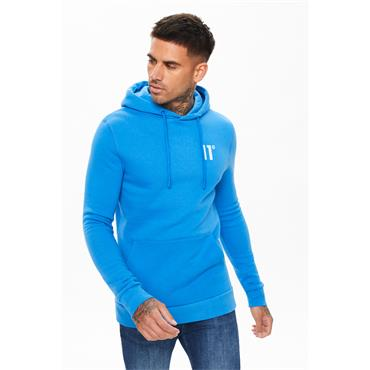 11 DEGREES CORE PULLOVER HOODIE - BLUE