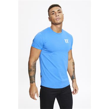 11 DEGREES CORE MUSCLE T-SHIRT - BLUE