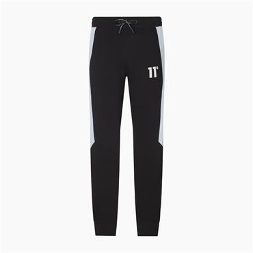 11 DEGREES CUT&SEW PANNEL JOGGER - BLACK