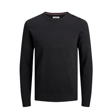 JACK&JONES SAILOR KNIT CREW NECK - GREY