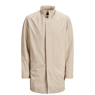 JACK AND JONES MAC COAT - BEIGE