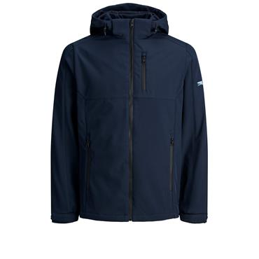 JACK AND JONES SOFTSHELL JACKET - NAVY