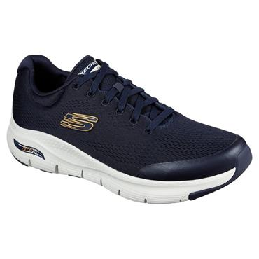 SKECHERS ARCH FIT TRAINER - NAVY