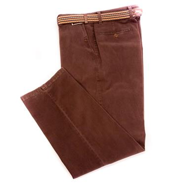 LCDN FRANK CASUAL TROUSERS - BROWN