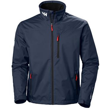 HELLY HANSEN CREW MIDLAYER JACKET - NAVY