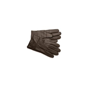 SOPHOS LEATHER GLOVES - BROWN