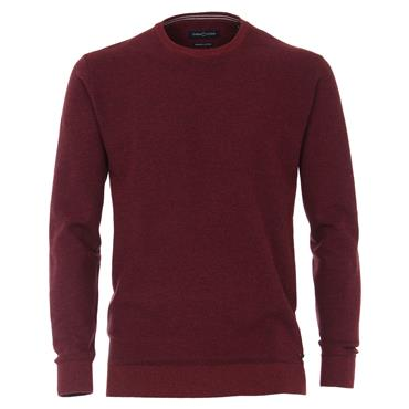 CASA-MODA O-NECK KNIT - RED
