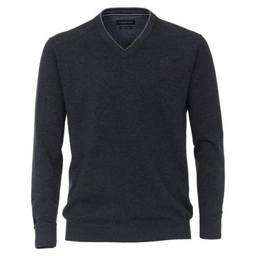 CASA-MODA V-NECK KNIT - BLUE