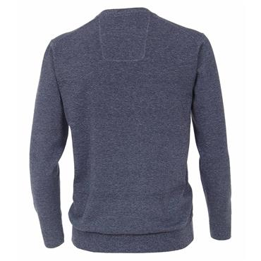 CASA-MODA V-NECK KNIT - DENIM