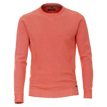 CASA MODA ROUND NECK KNIT - ORANGE