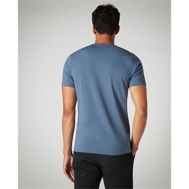 REMUS UOMO PLAIN T-SHIRT - BLUE