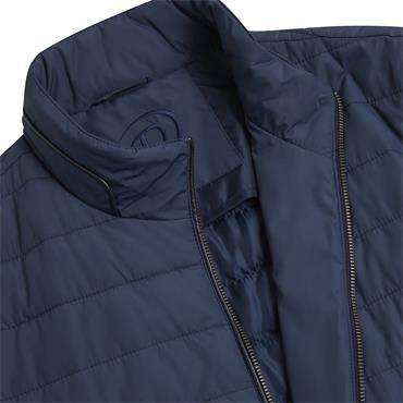 DOUGLAS PERRY CASUAL PADDED JACKET - BLUE