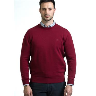 ANDRE ACHILL O-NECK KNIT - BURGUNDY