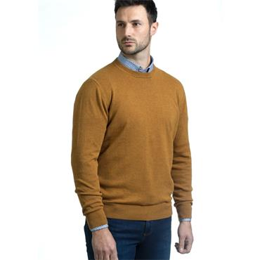 ANDRE ACHILL O-NECK KNIT - GOLD